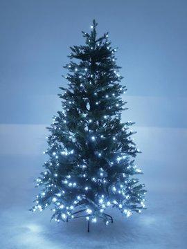 PE Tannenbaum DELUXE mit LEDs, 180cm