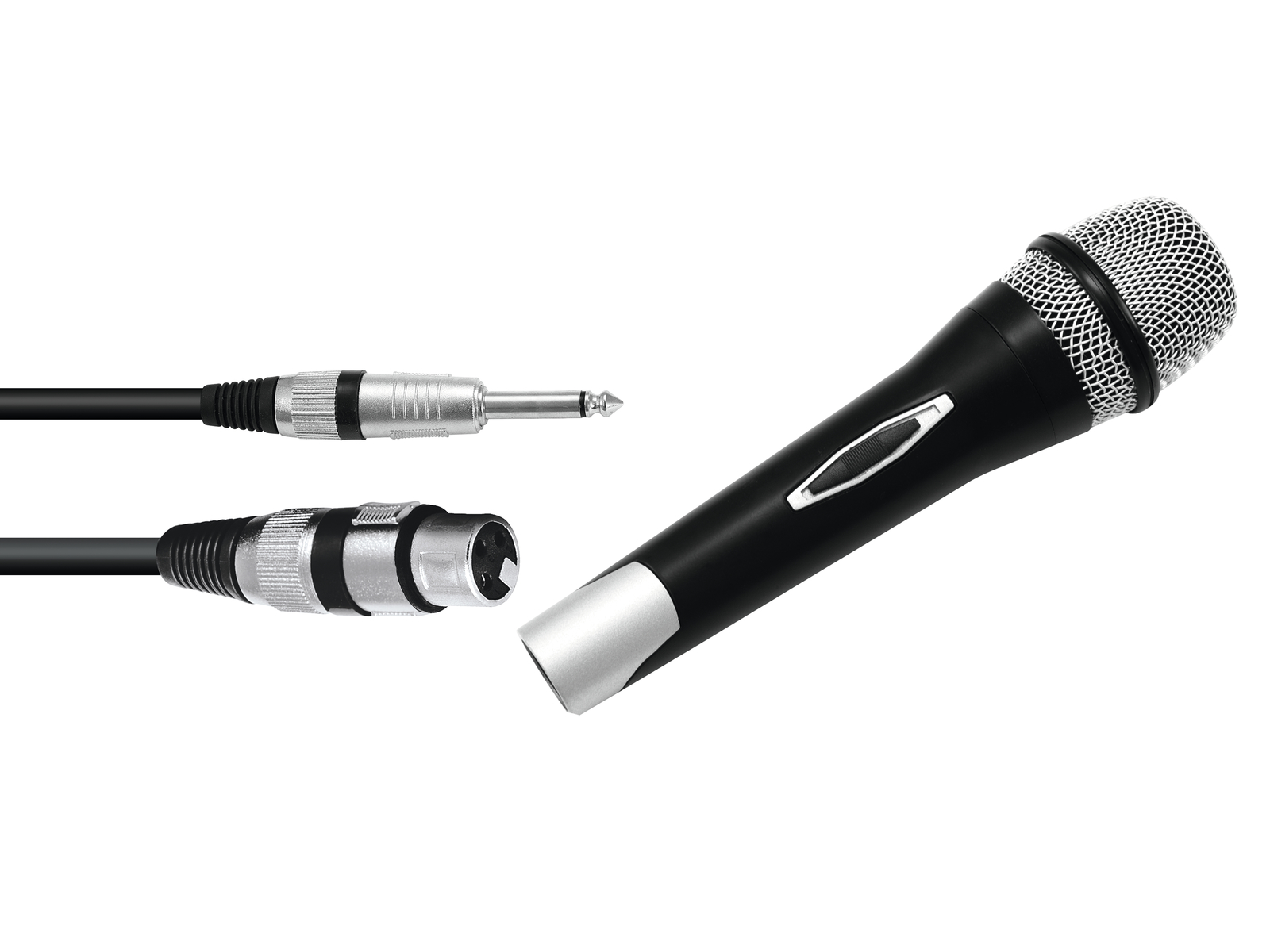 OMNITRONIC Partymic-1 Dynamic Microphone including XLR cable / jack