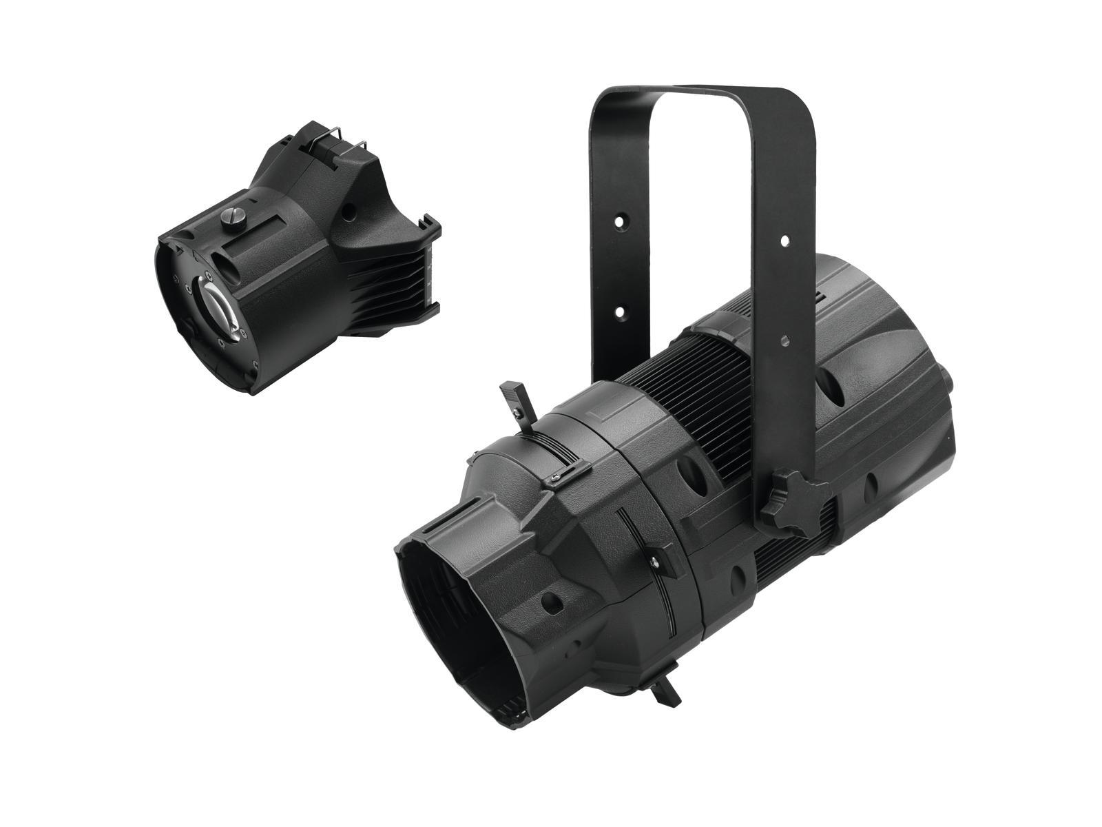 EUROLITE LED LED PFE-50 3000K  COLORE NERO