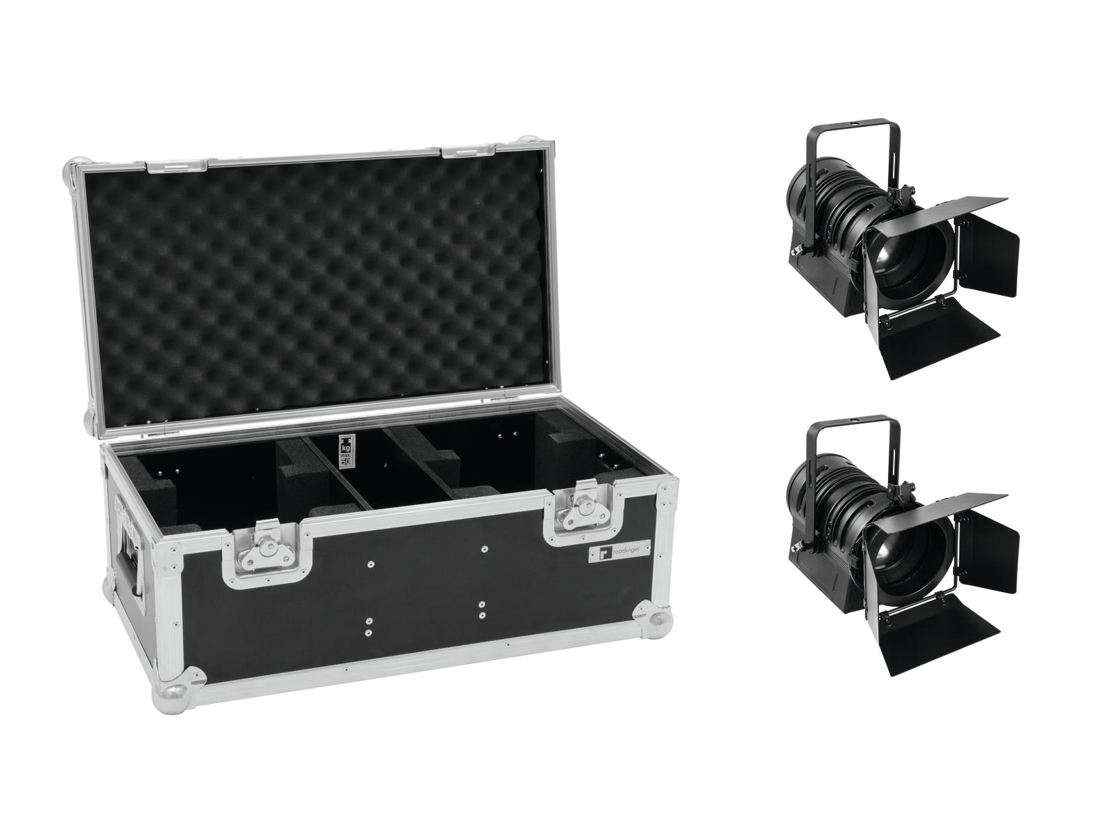 EUROLITE Set 2x LED THA-60PC + Case