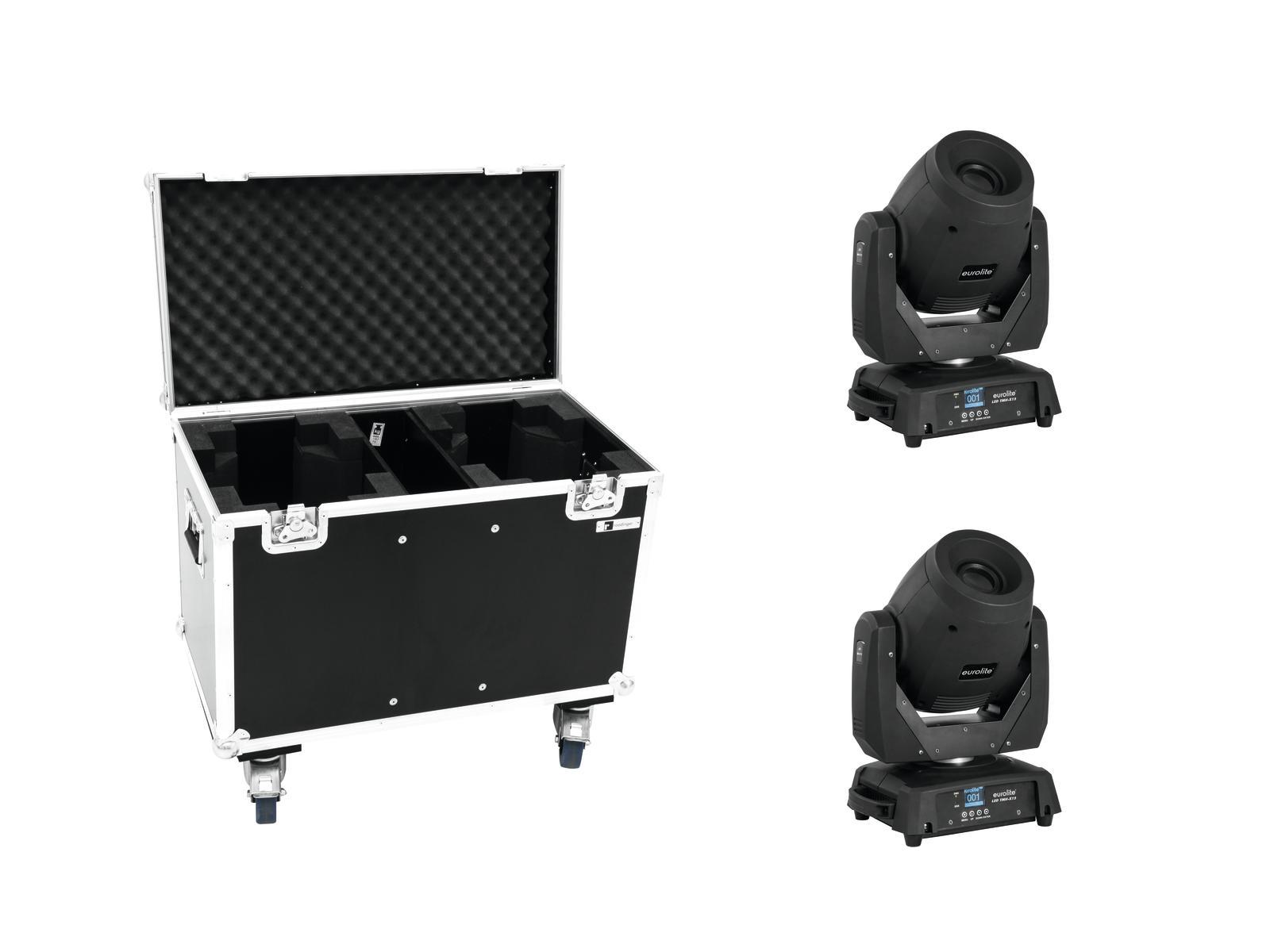 EUROLITE Set 2x LED TMH-X12 + Caso