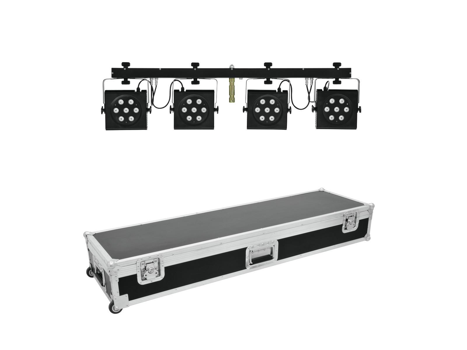 EUROLITE Set LED KLS-801 + Cas