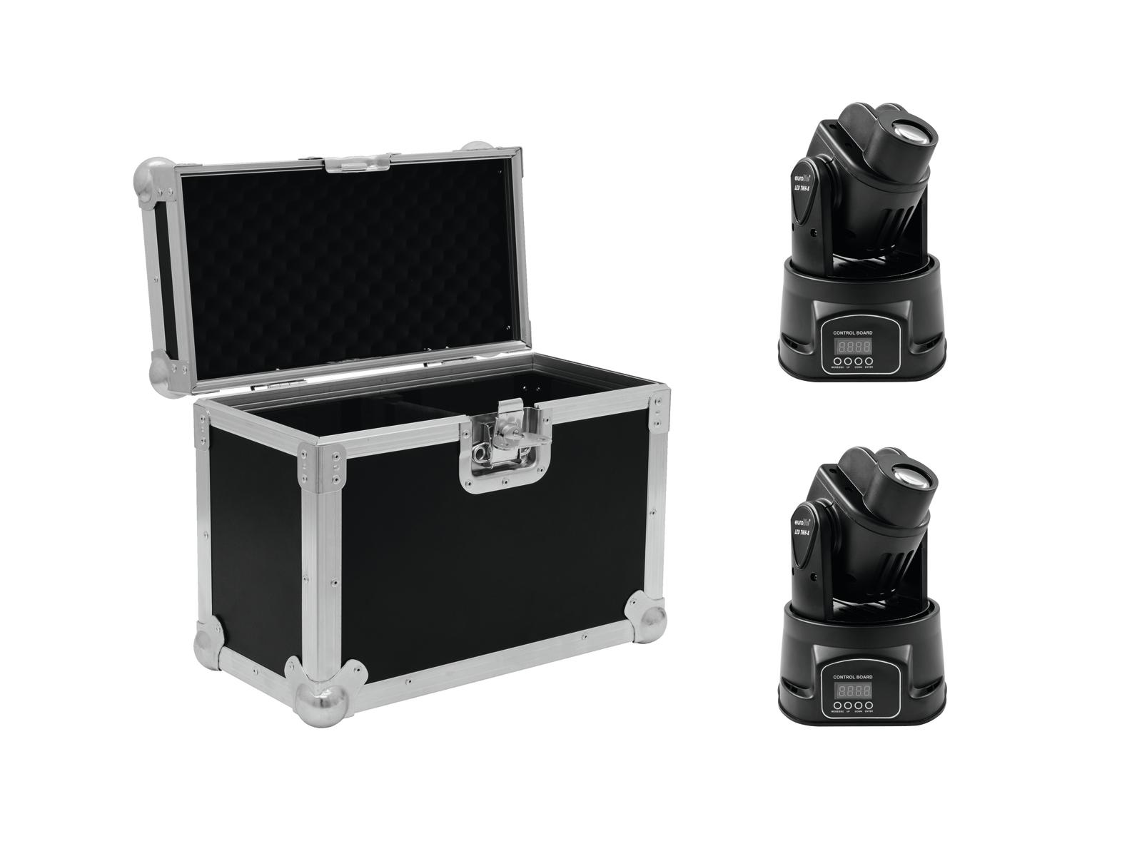 EUROLITE Set 2x LED TMH-8 + Caso