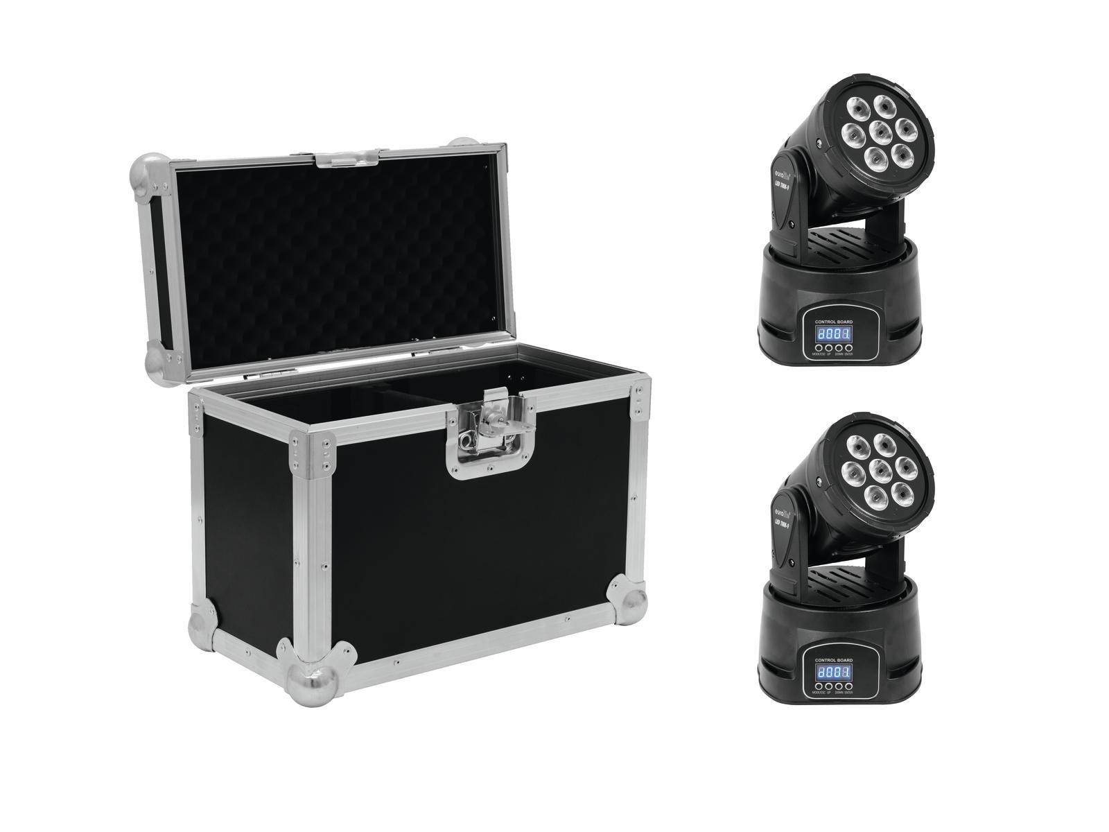 EUROLITE Set 2x LED TMH-9 + Caso