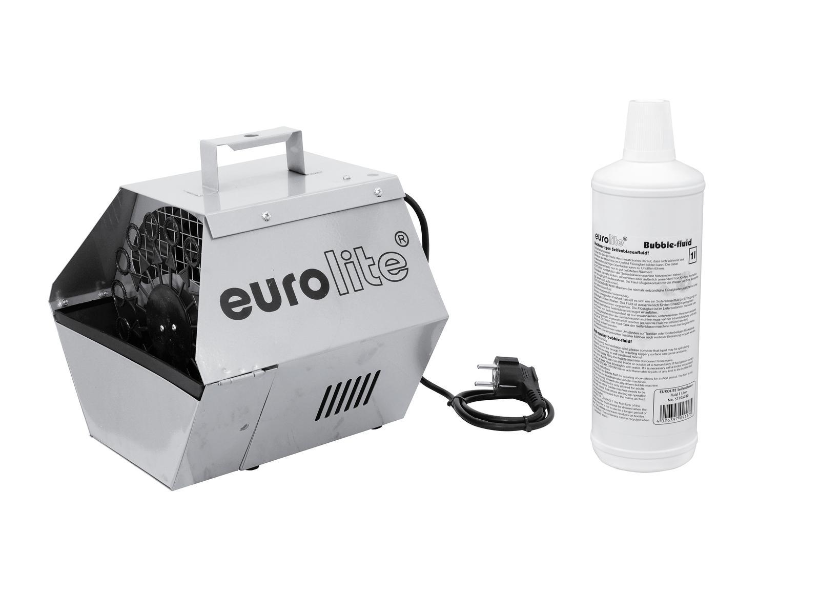 Macchine Bolle di sapone Bubble Machine Inc liquido da 1LT B-90 EUROLITE