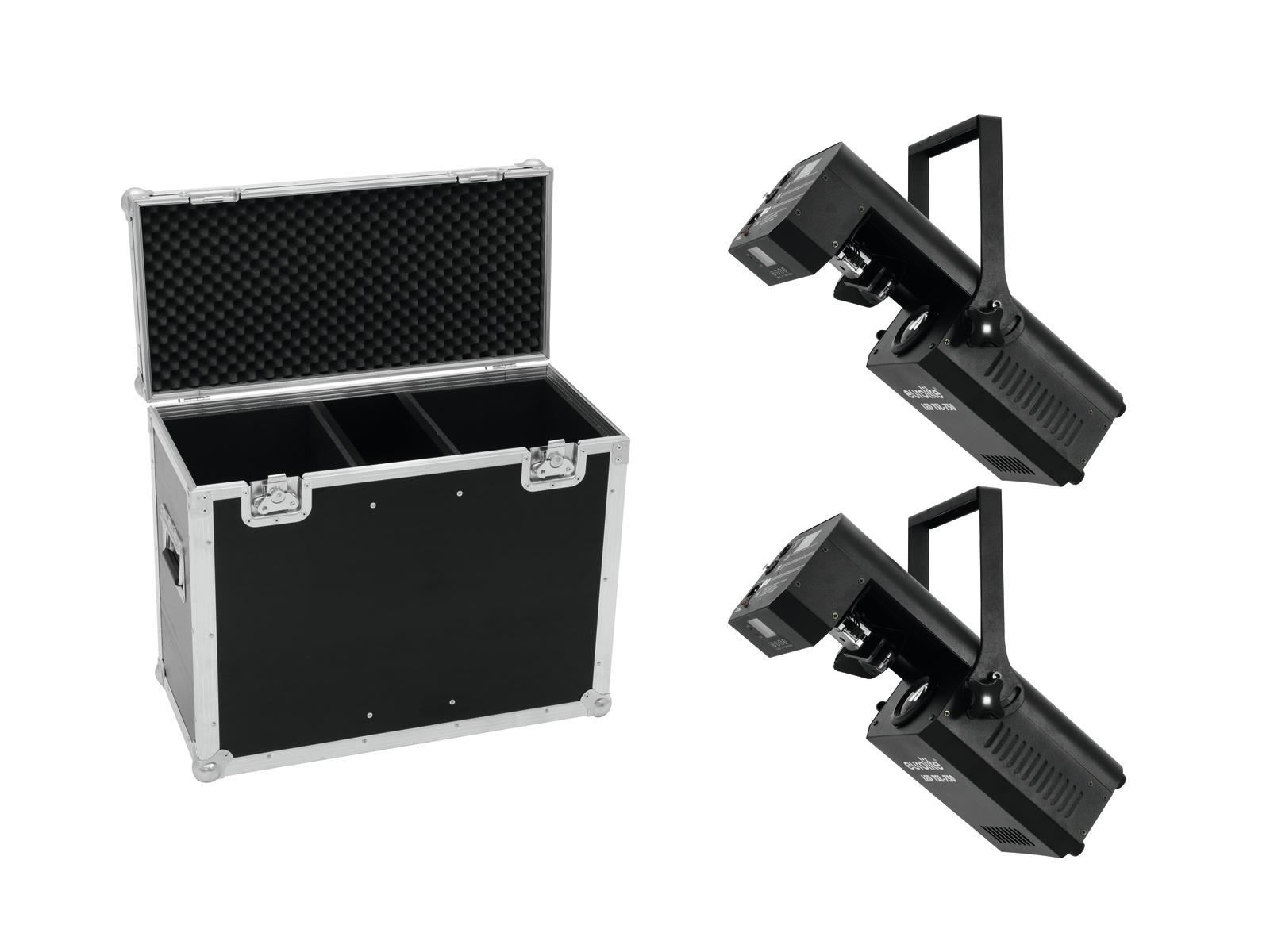EUROLITE Set 2x LED TSL-750 Scan + Caso