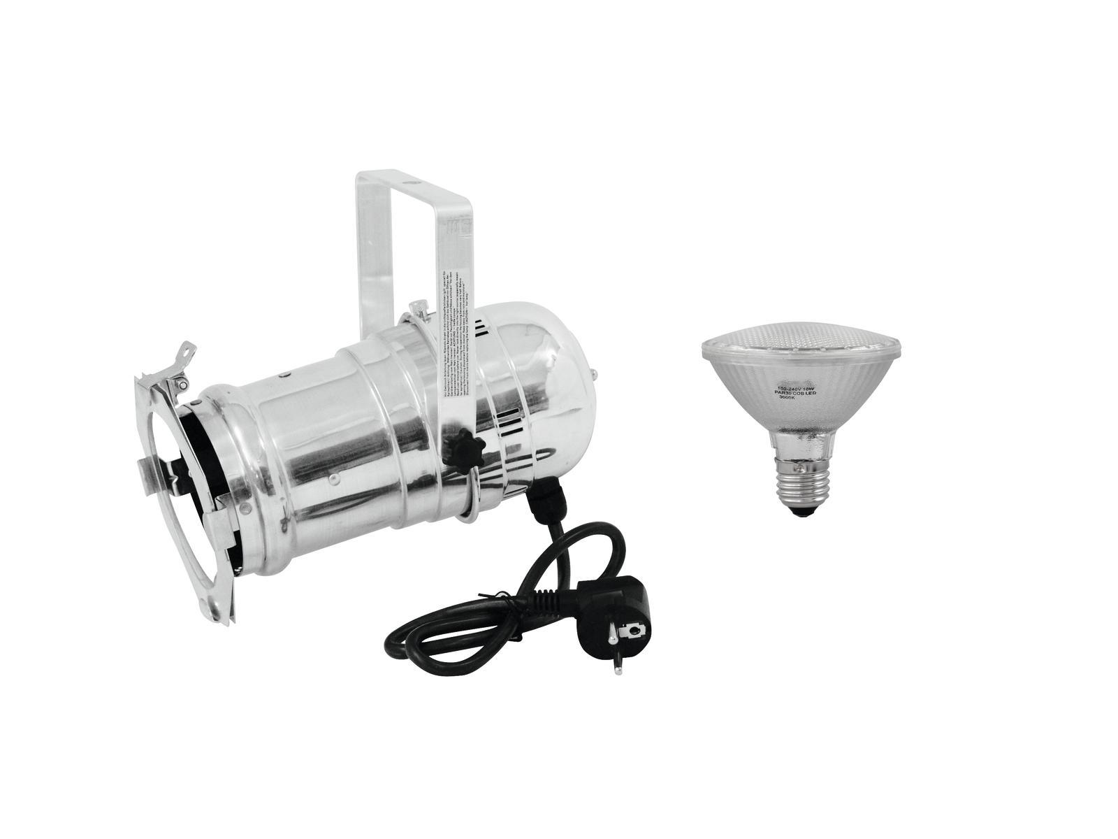 EUROLITE Impostare PAR-30 Spot sil + PAR-30 230V SMD 11W E-27 LED 3000
