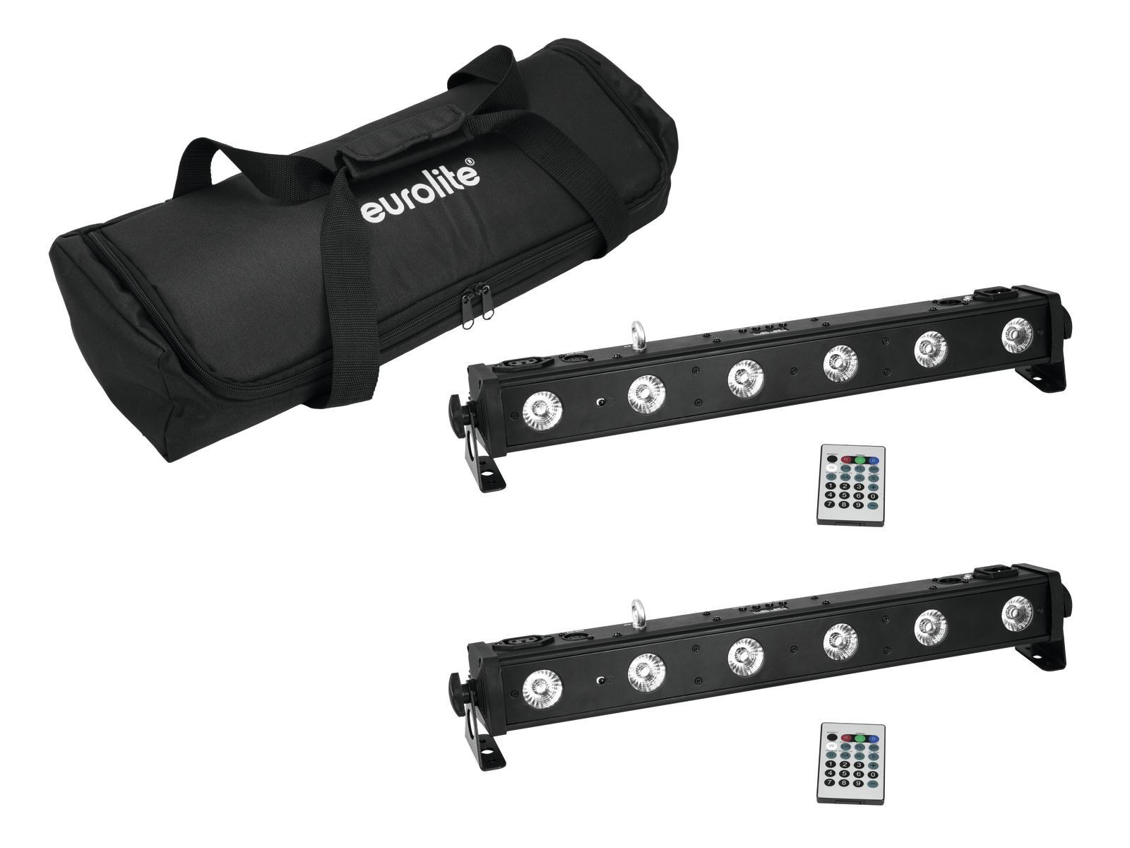 EUROLITE Set 2x LED BAR-650 + Soft Bag