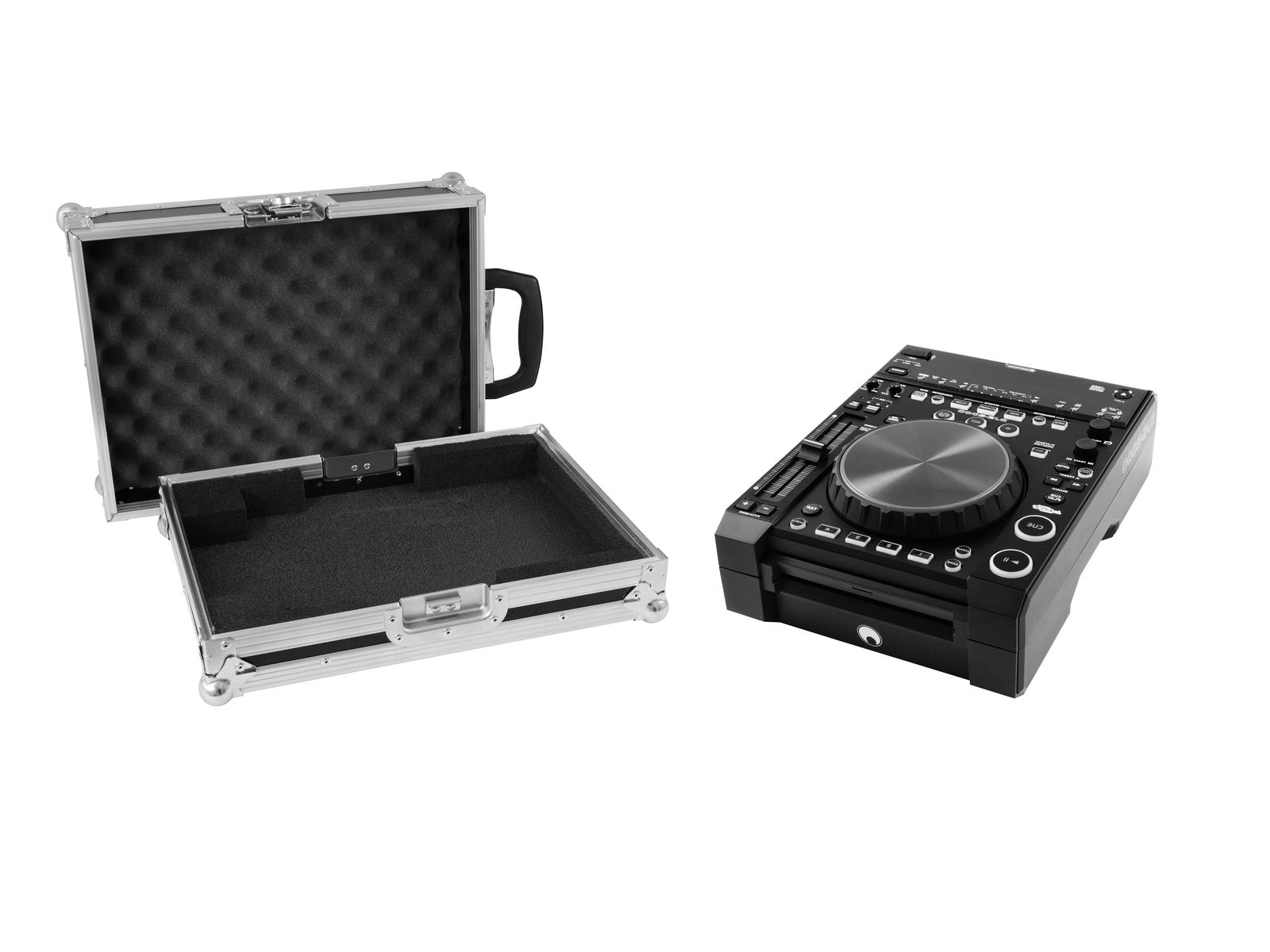 EUROLITE Set DJ-2000 DJ-Player + Caso