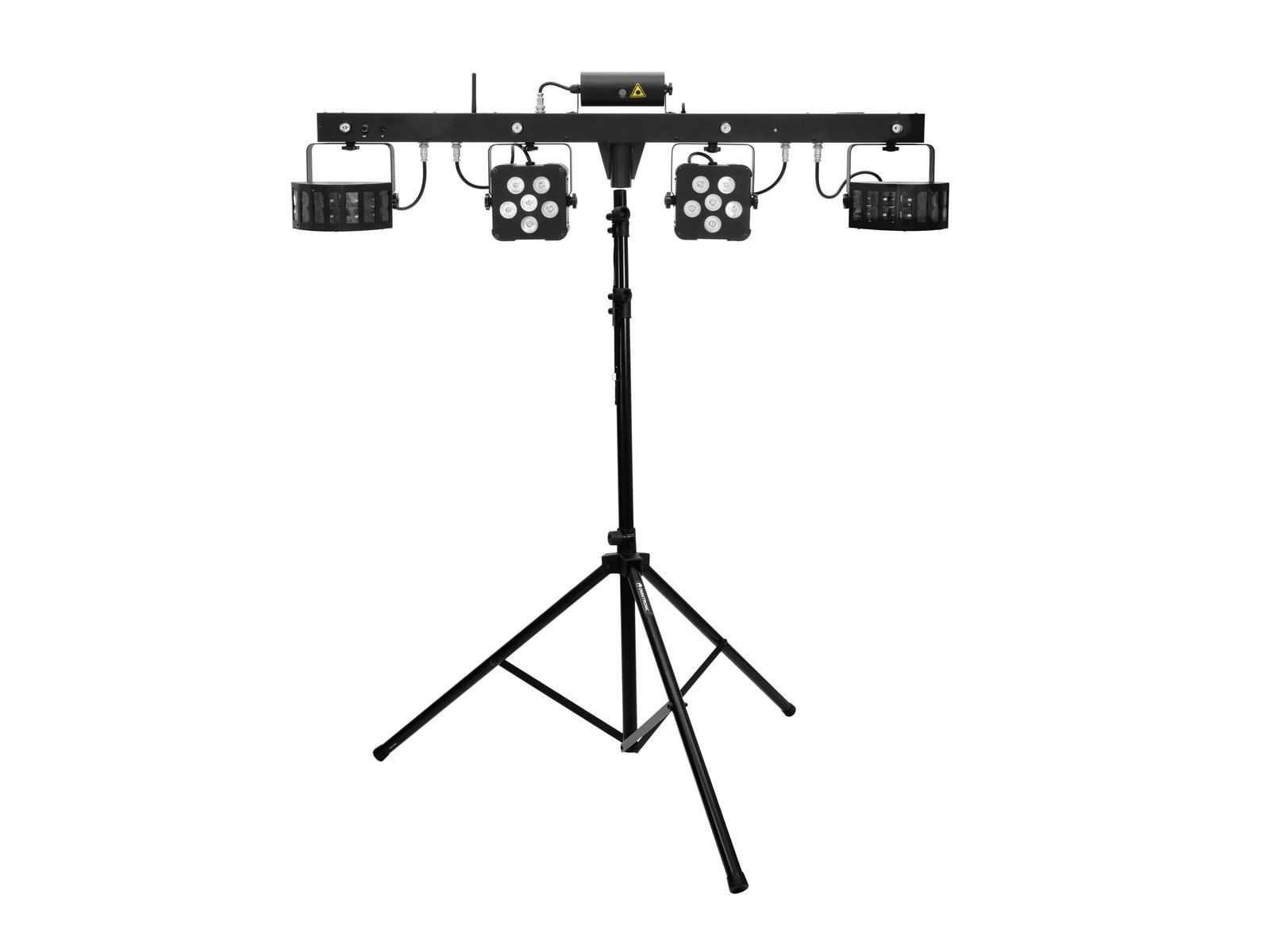 EUROLITE LED di Set KLS Laser Bar PRO FX Luce + M-4 Altoparlanti-Sy