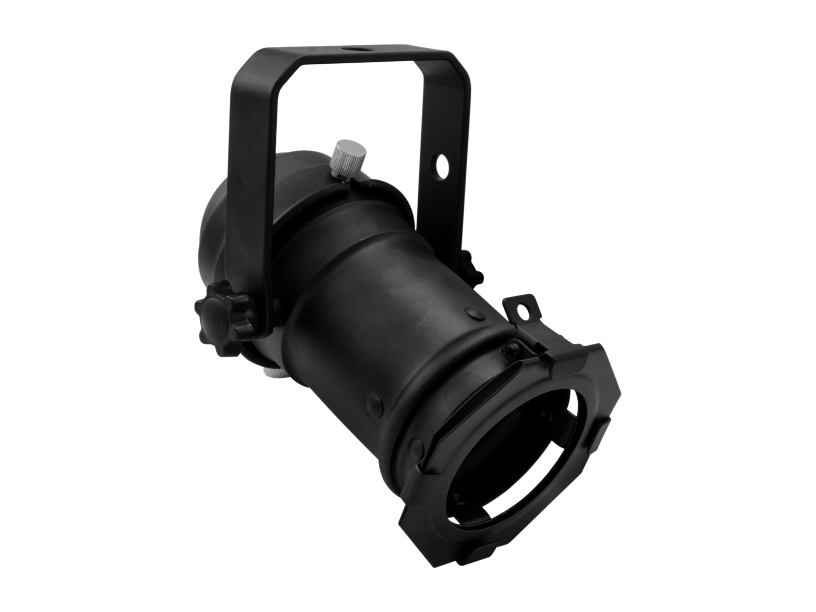 EUROLITE Set PAR-16 Spot GU-10 schwarz + GU-10 230V LED SMD 7W 3000K