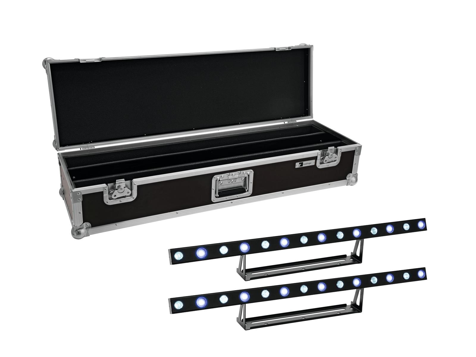 EUROLITE Set 2x LED STP-7 Beam/Wash Bar + Case