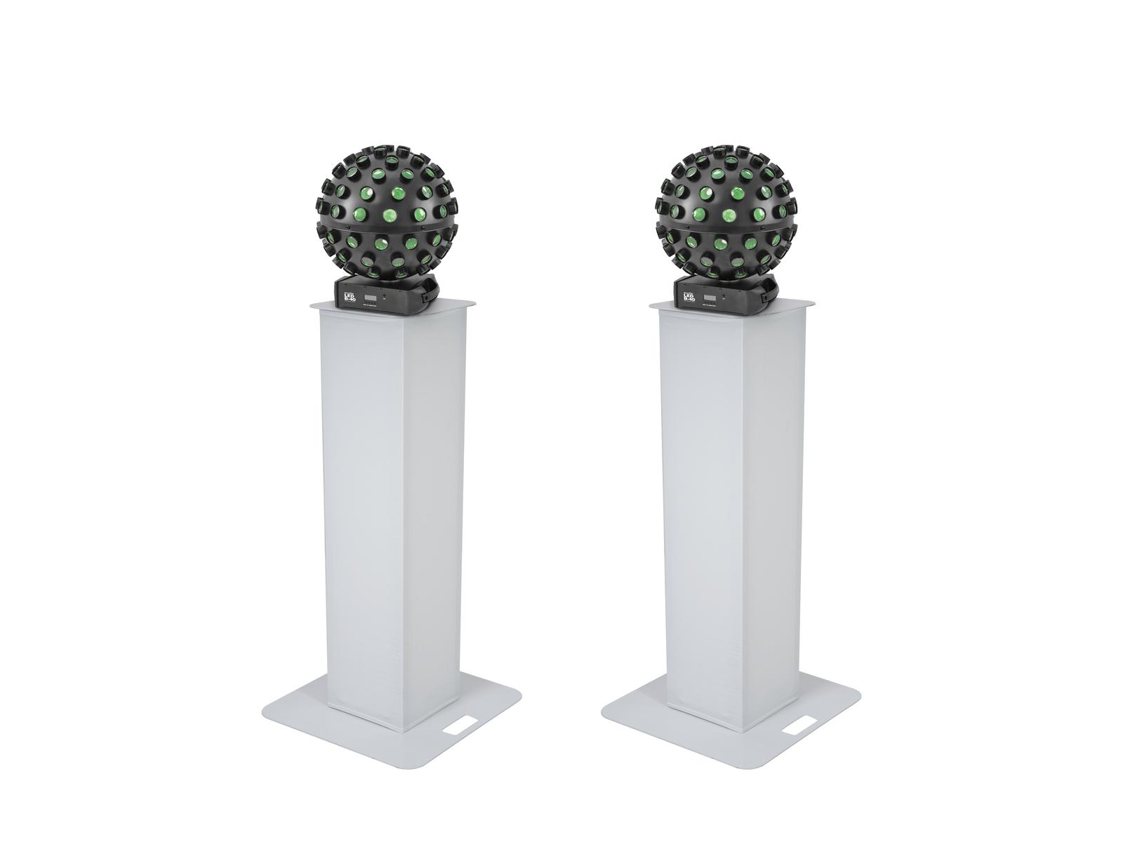 EUROLITE Set 2x Stage Stand 100cm + 2x LED B-40 HCL Strahleneffekt