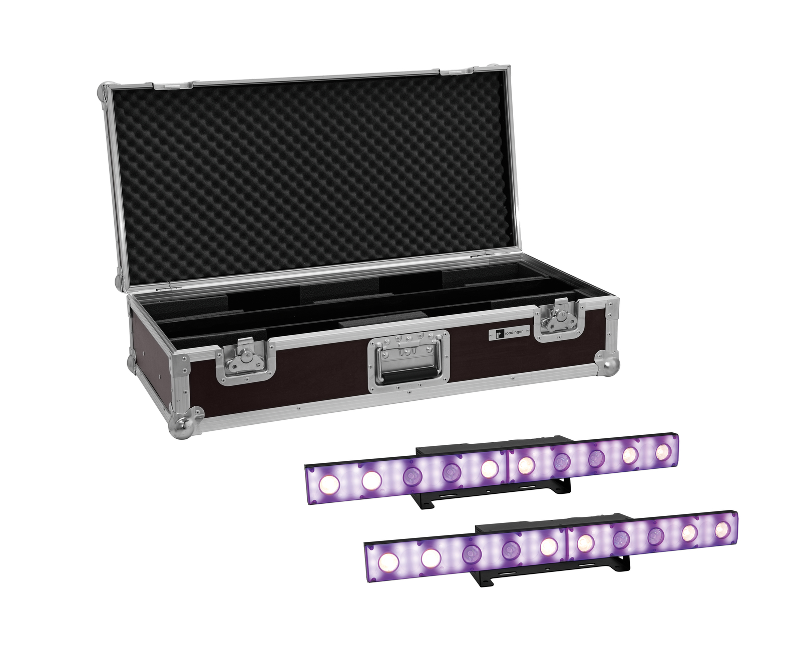 EUROLITE Set 2x LED STP-10 ABL Sunbar + Case