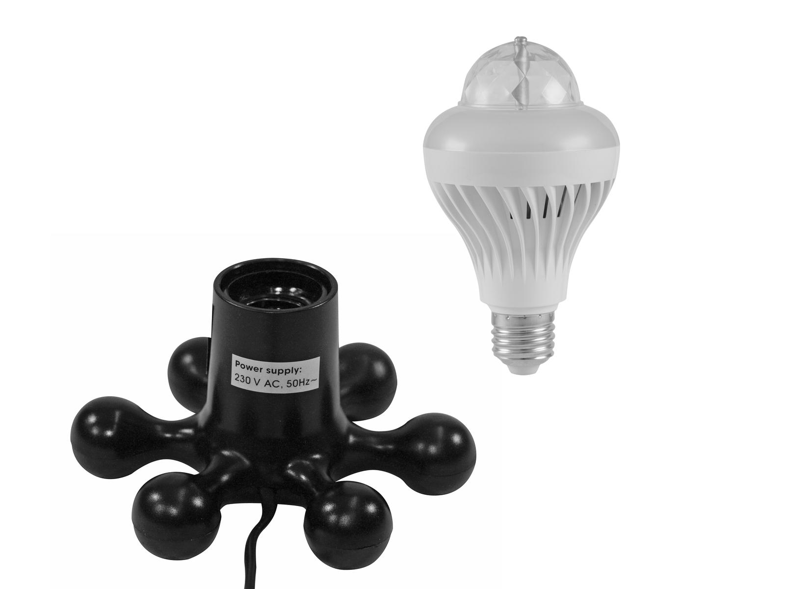 EUROLITE LED di Set di BCL-1 + Hexopus base nera