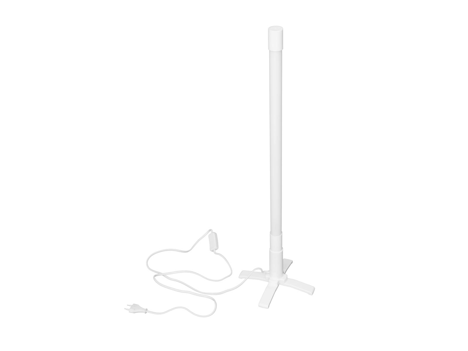 EUROLITE Leuchtstab T8 18W 70cm weiß, weißes Gehäuse