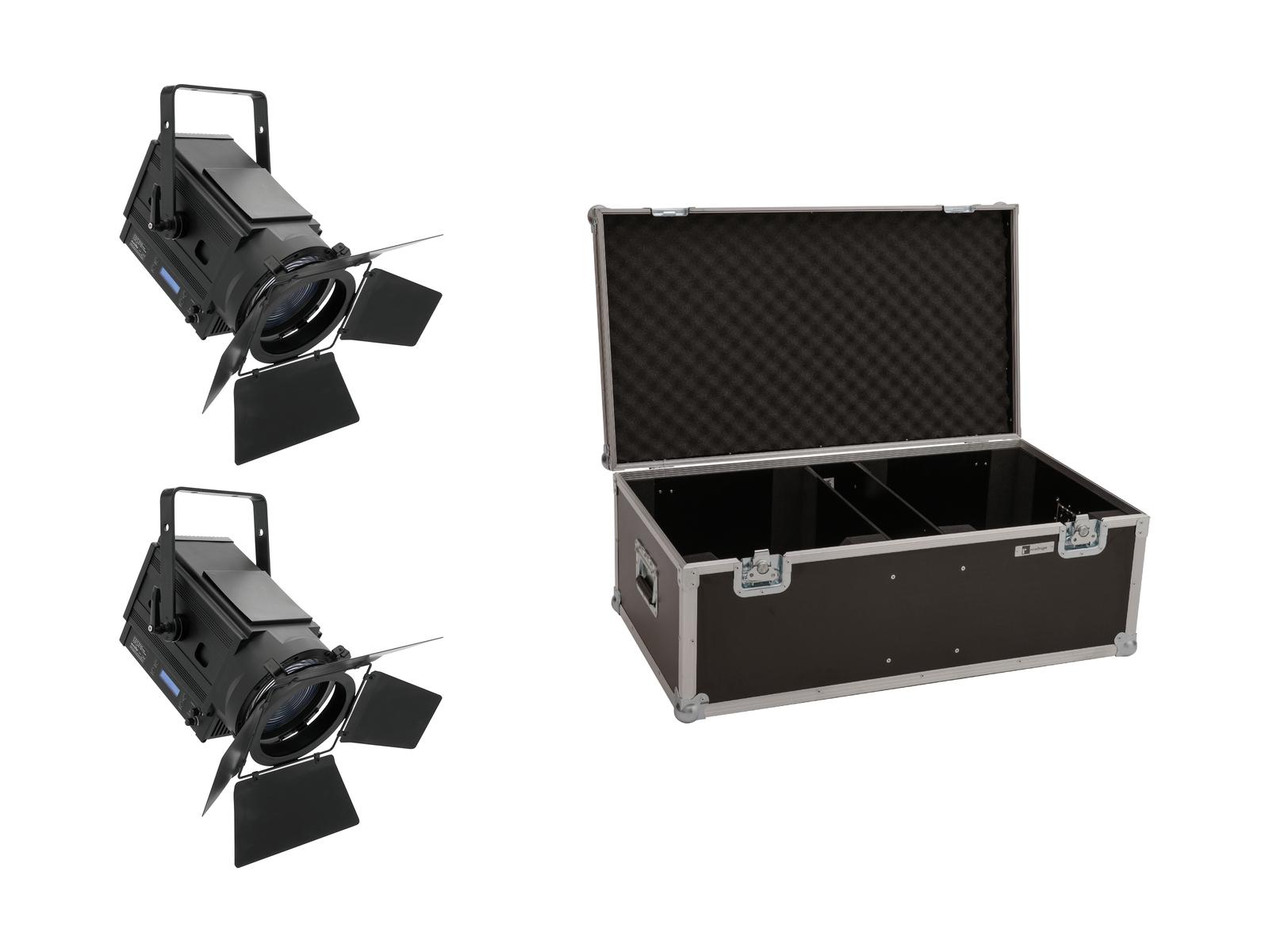 EUROLITE Set 2x LED THA-150F + Case