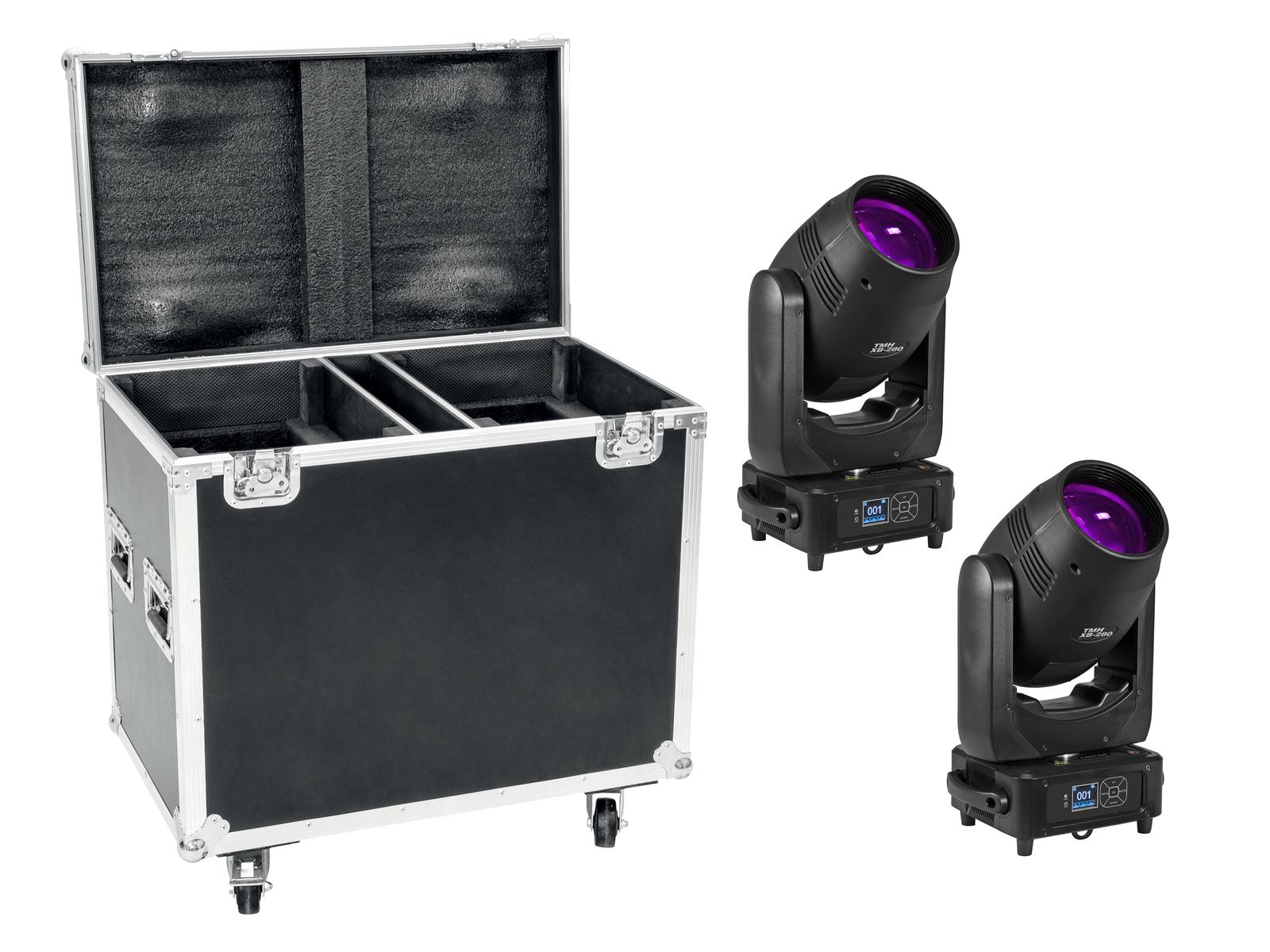 EUROLITE Set 2x TMH XB-280 + Case