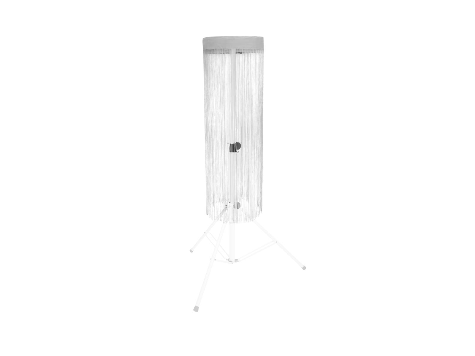 EUROLITE Set LED Color Curtain + BS-2 EU Boxenhochständer weiß