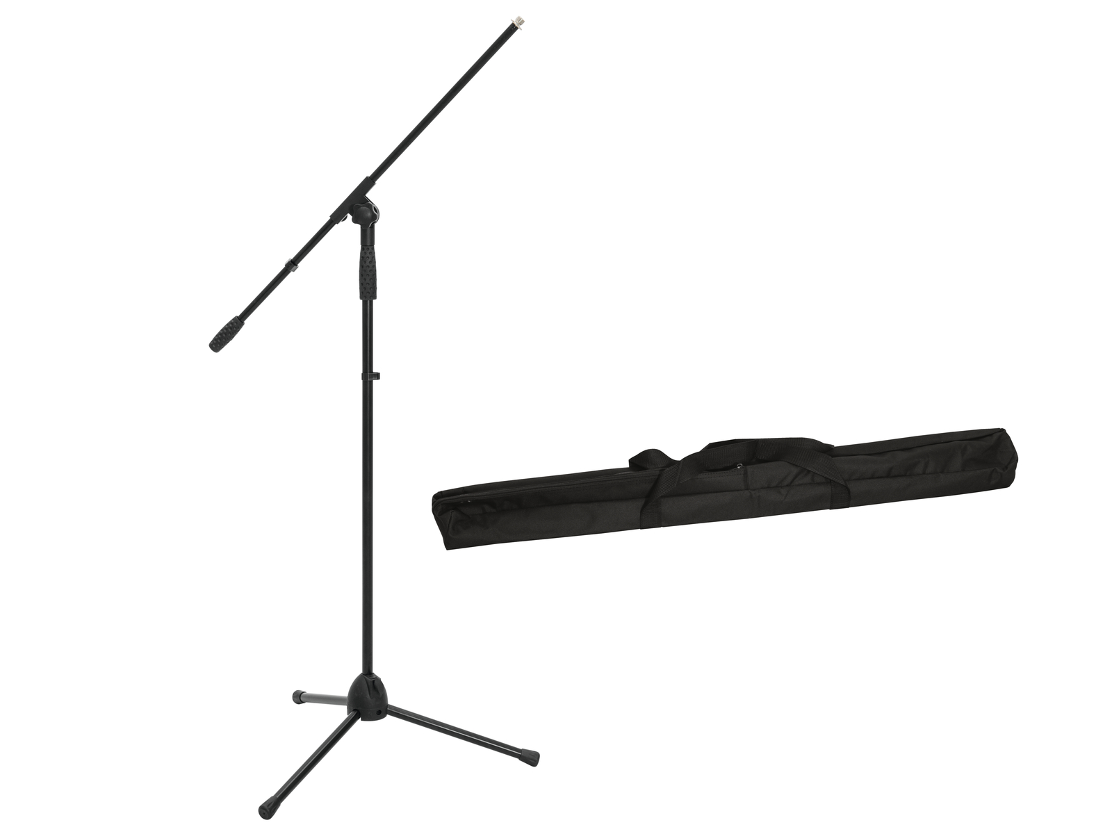 OMNITRONIC Set Mikrofonstativ MS-2A mit Galgen sw + Tasche