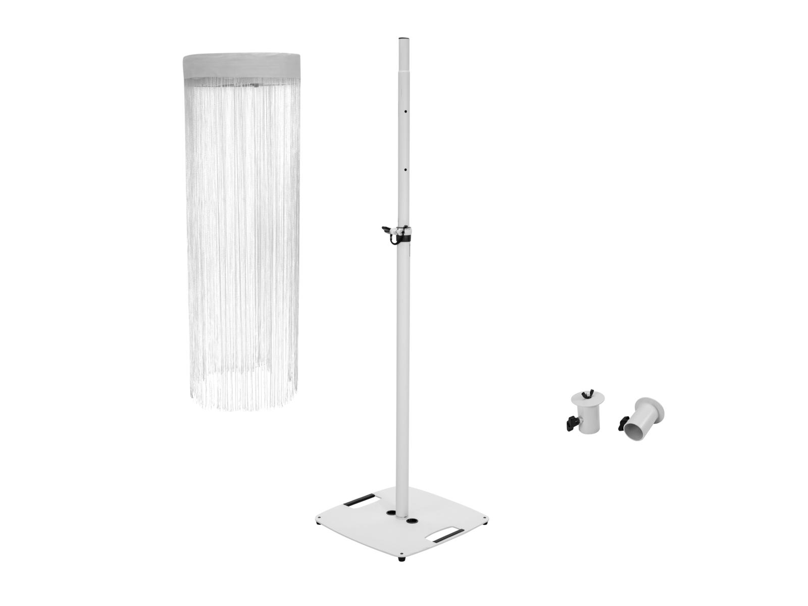 EUROLITE Set LED Color Curtain + BPS-2 Boxenhochständer weiß