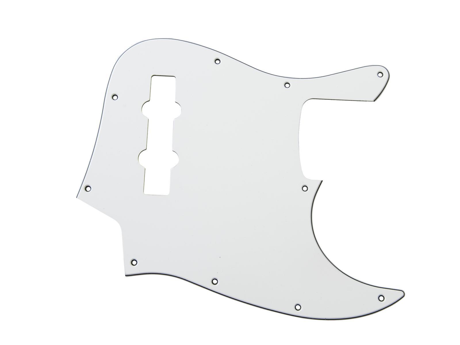 Cover battipenna modulo di ricambio per basso bianco DIMAVERY JB-bass