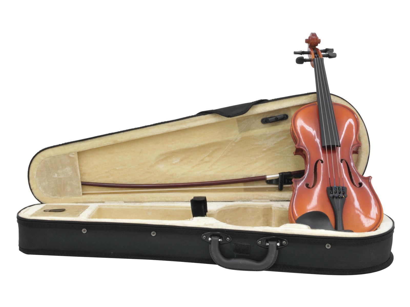 DIMAVERY Violine 1/8 mit Bogen, im Case