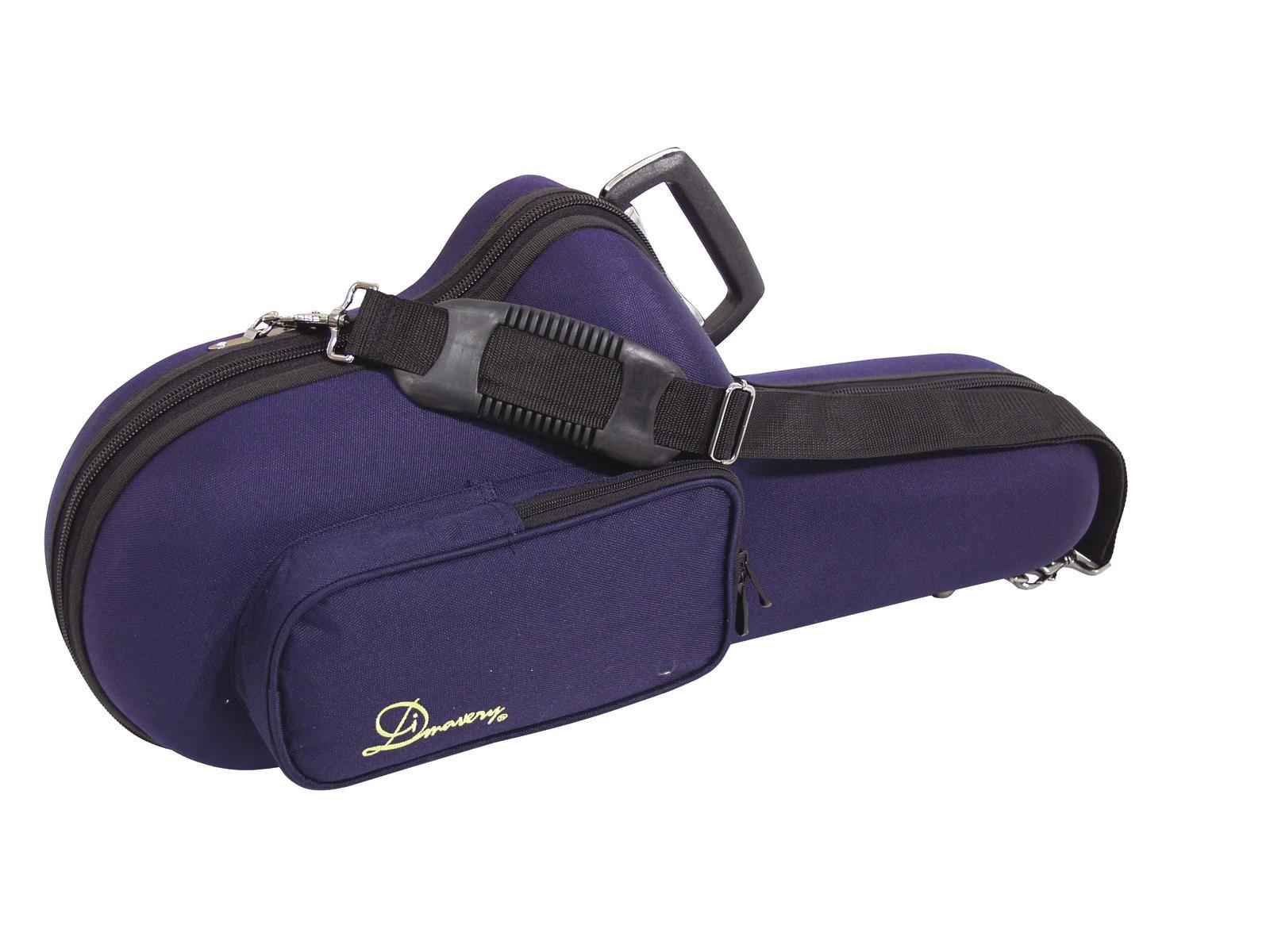 Custodia borsa per sassofono, sax, semirigida blu, DIMAVERY
