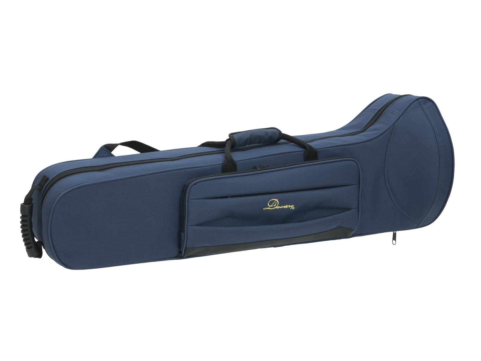 Custodia, borsa  per Trombone, blu, DIMAVERY