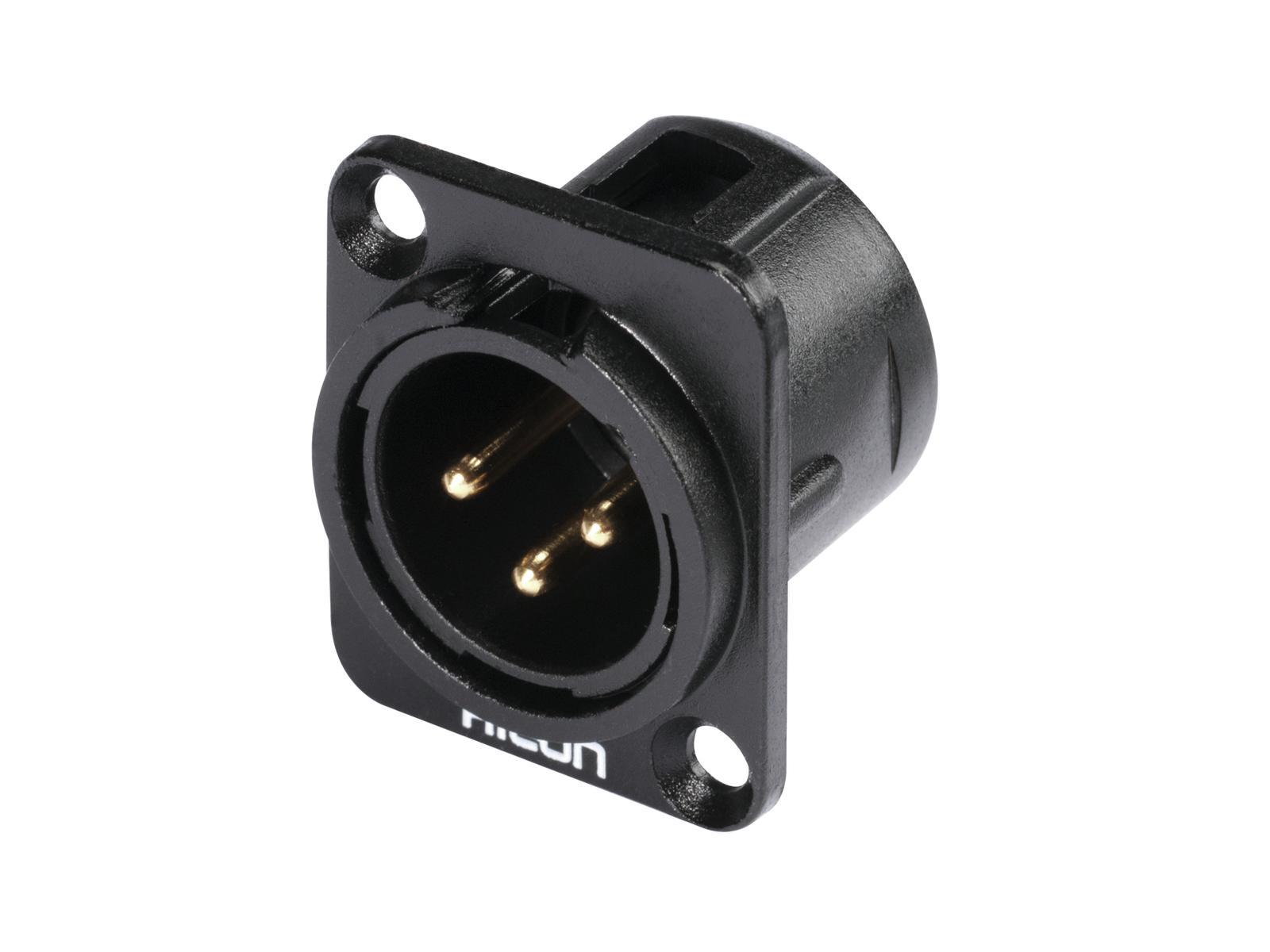 HICON XLR montaggio plug 3pin HI-X3DM