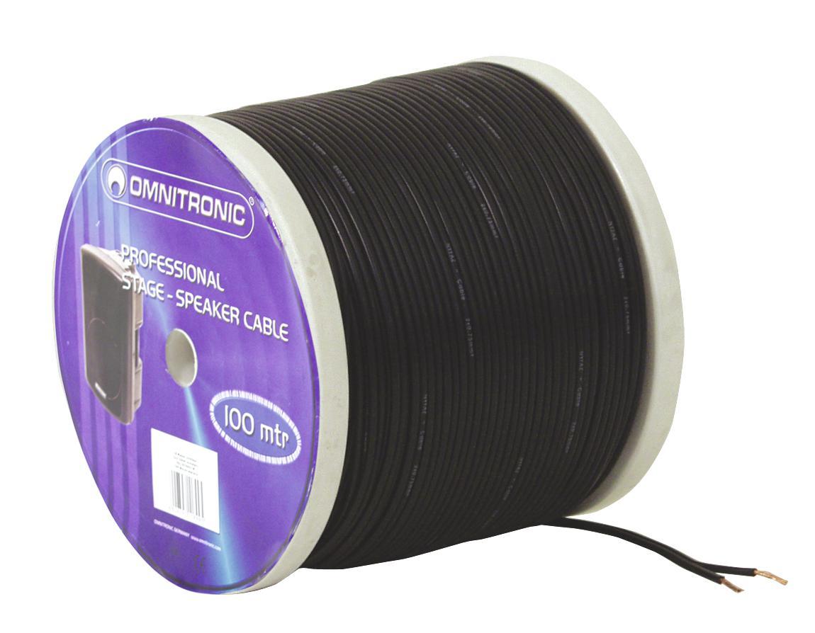 Cable Coil Coil Cable Bulk 2x0.75 100m Omnitronic