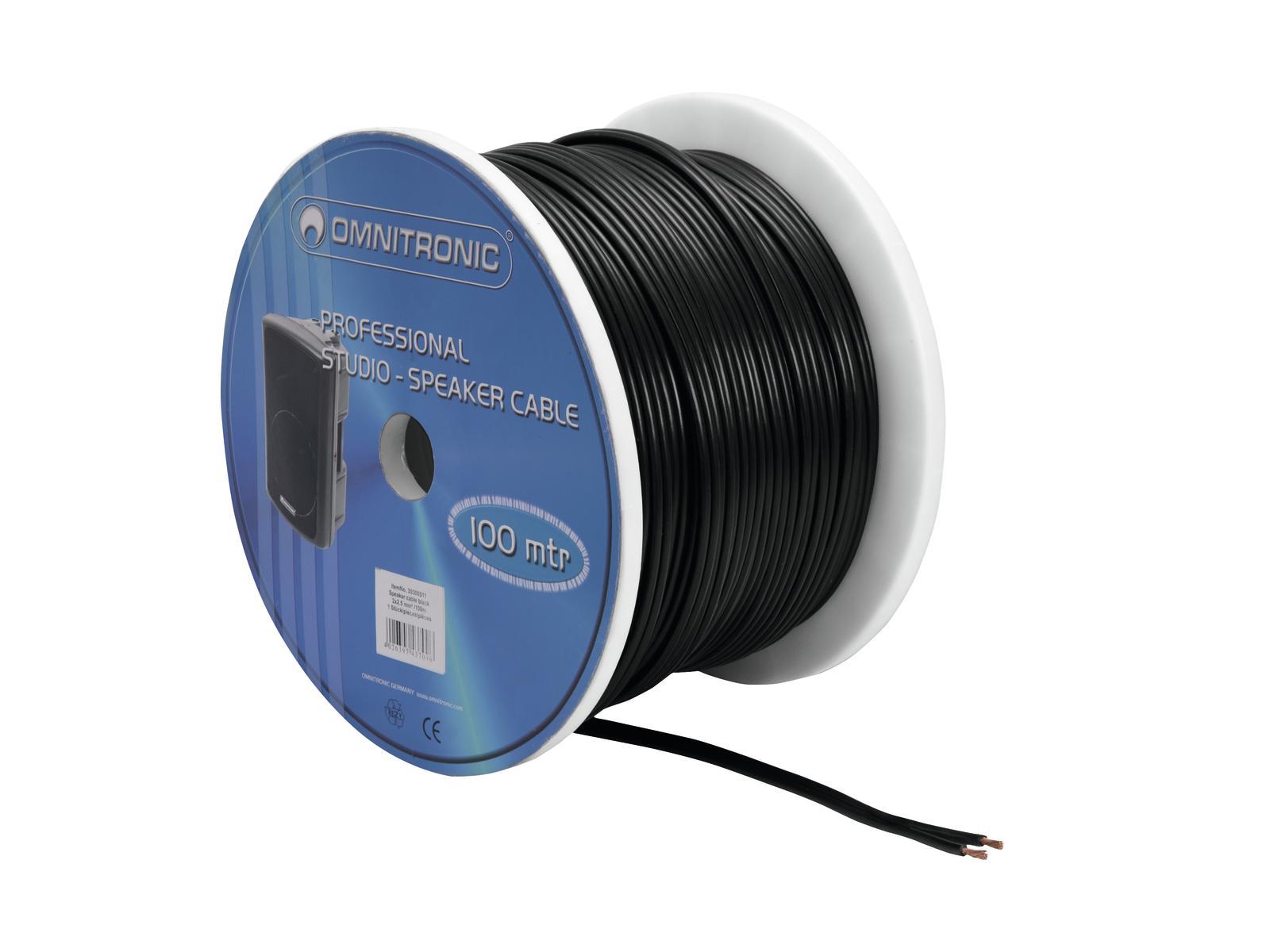 Cable Coil Coil Cable Bulk 2x2.5 100m Omnitronic