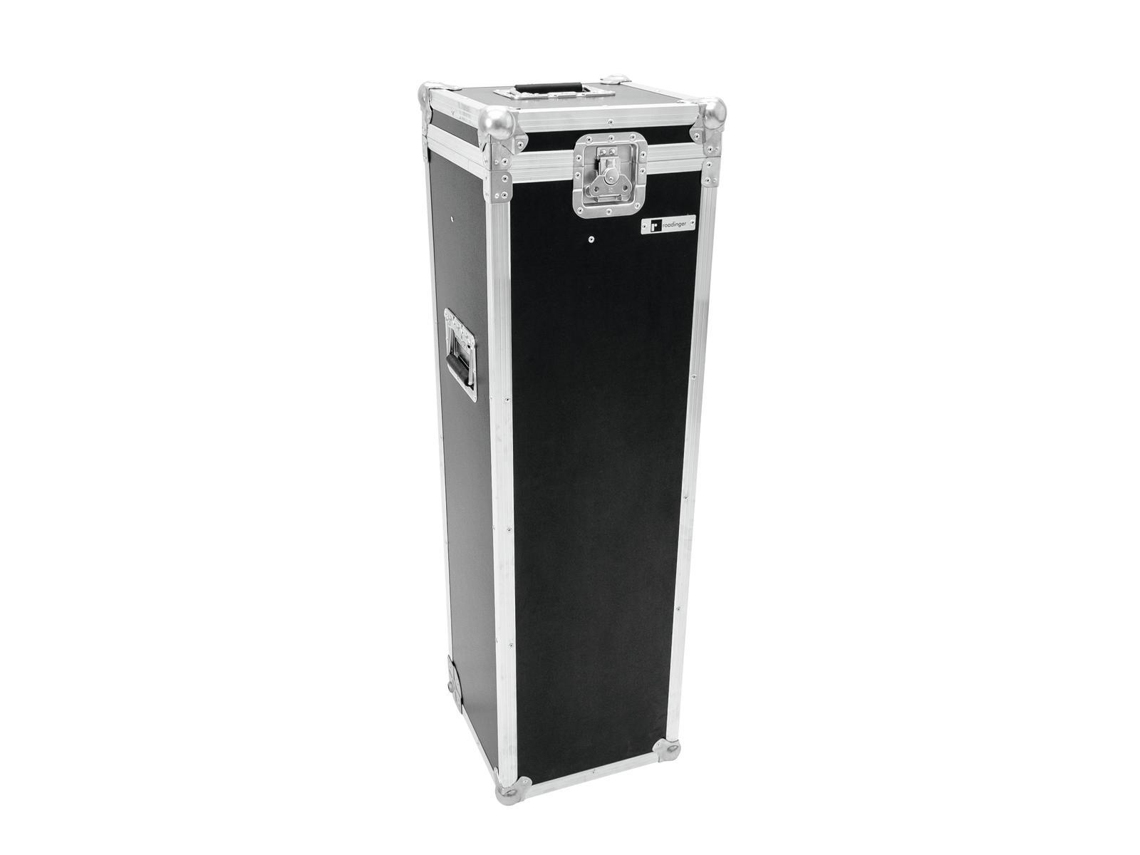 ROADINGER Flightcase 4x Mikrofonständer