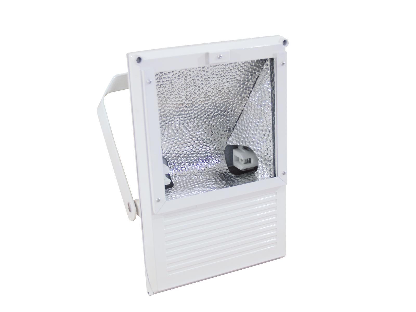EUROLITE Proiettore da esterno Spot 70W WFL bianco A