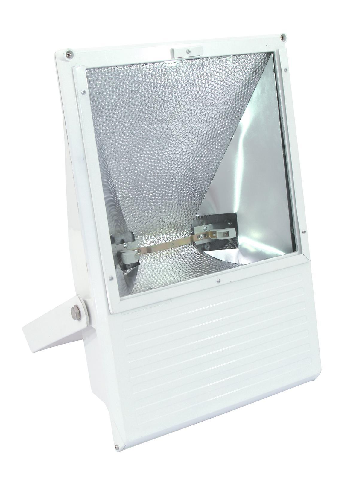 EUROLITE Proiettore da esterno 750-1000W WFL bianco