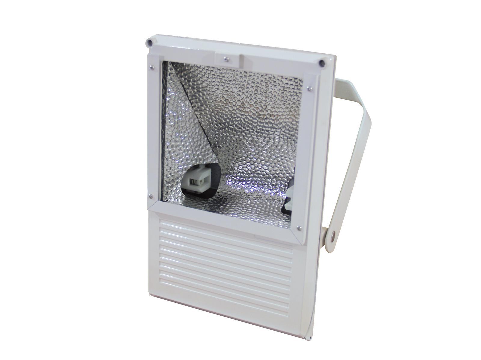 EUROLITE Proiettore da esterno da 250 Watt WFL bianco A