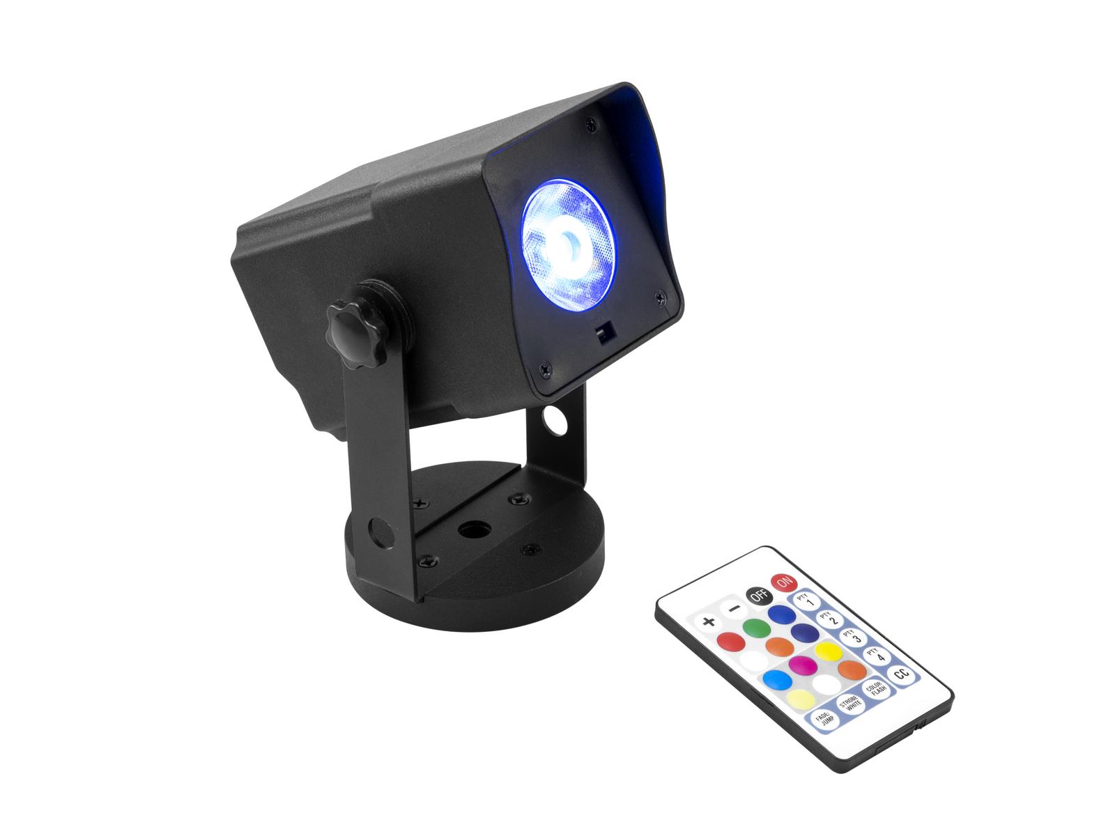 EUROLITE AKKU Dot 1 RGB/WW QuickDMX sw