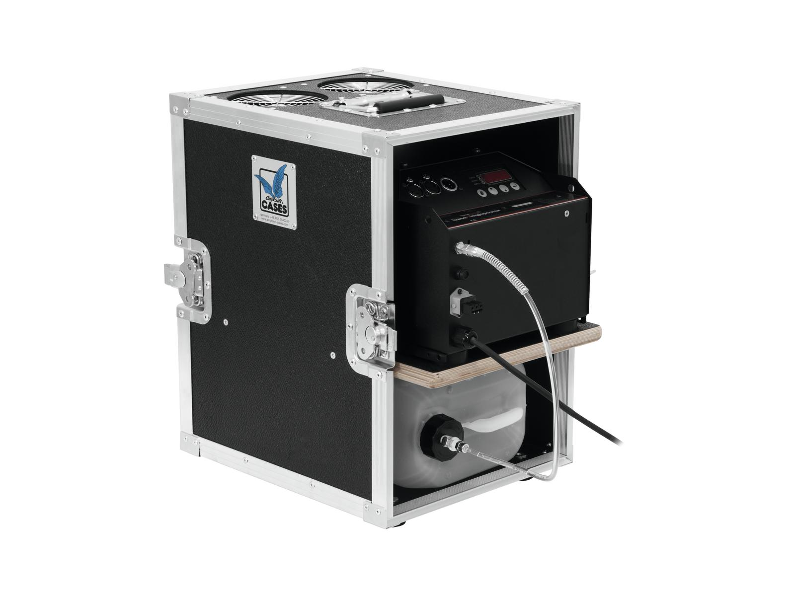 Macchina Del Fumo Nebbia 2600 watt DMX HAZEBASE con Flycase