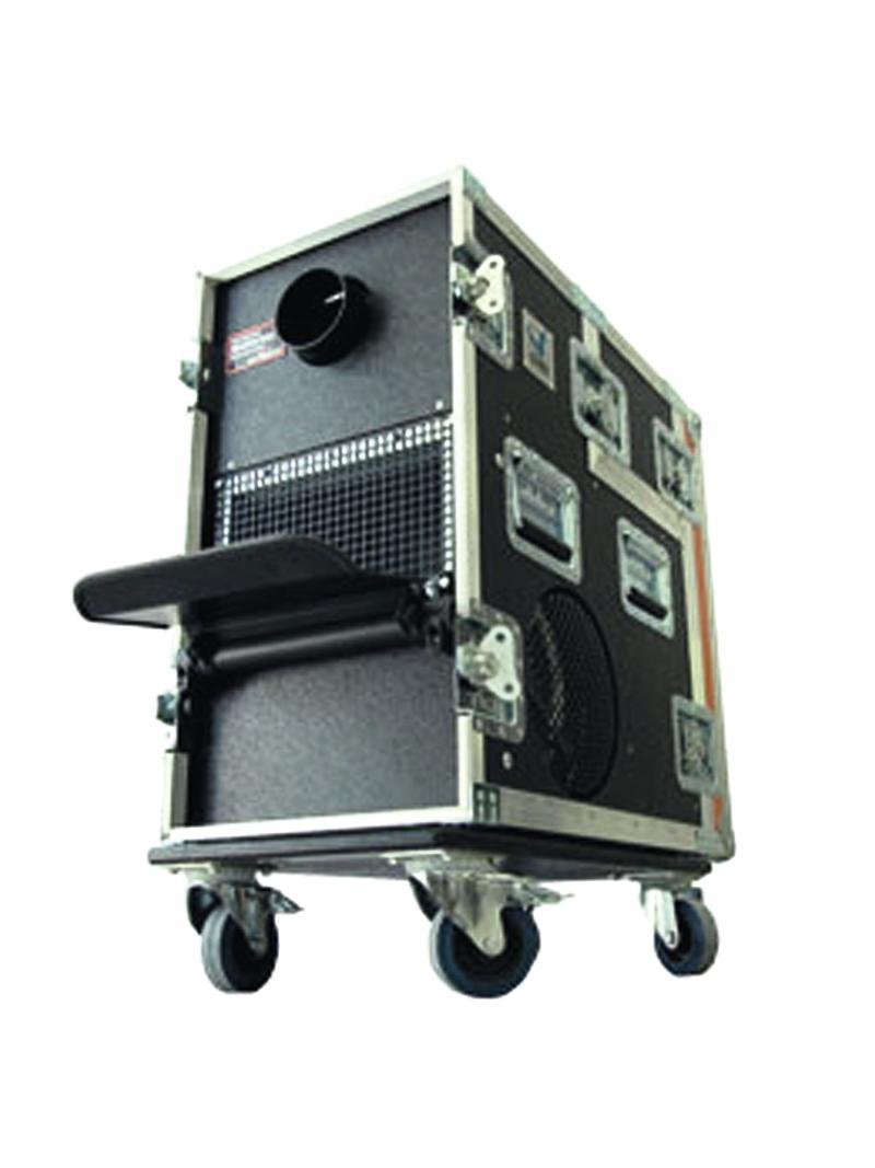Macchina Del Fumo Nebbia 2600 watt DMX HAZEBASE con Touring Flycase