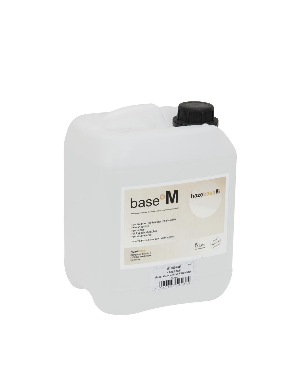 HAZEBASE Base*M Nebelfluid 5l Kanister