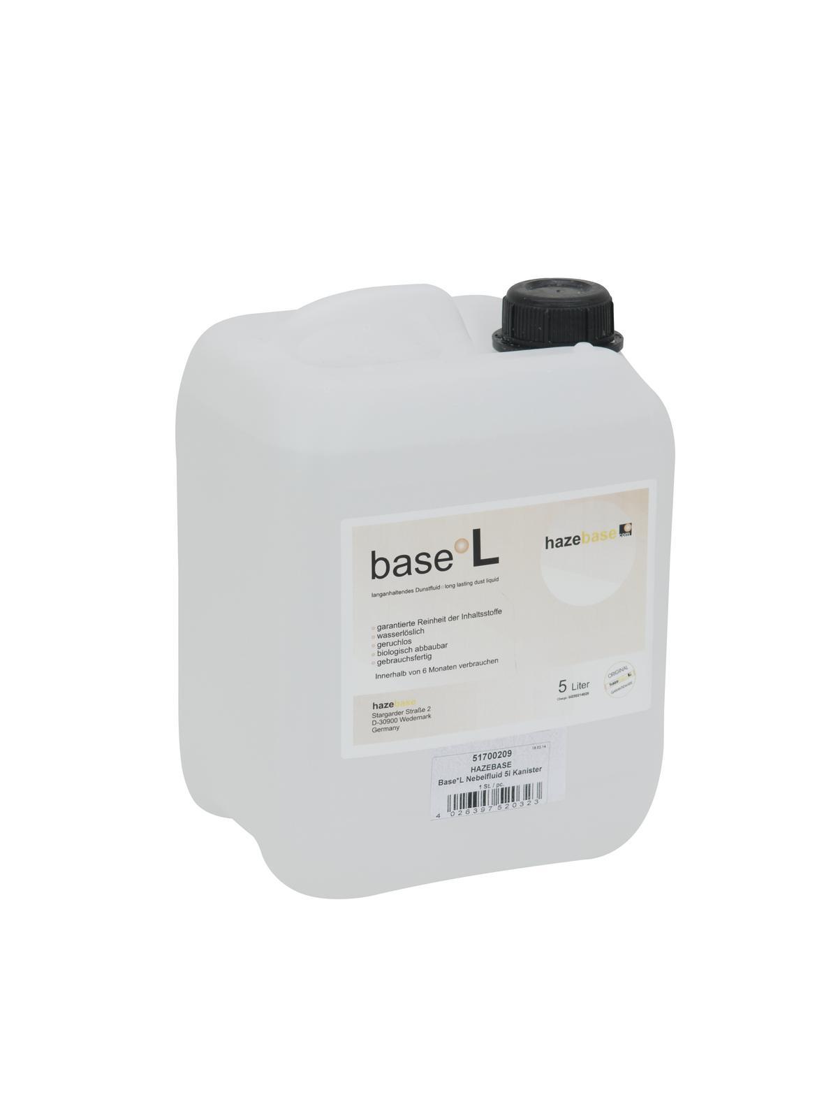 HAZEBASE Base*L Nebelfluid 5l Kanister