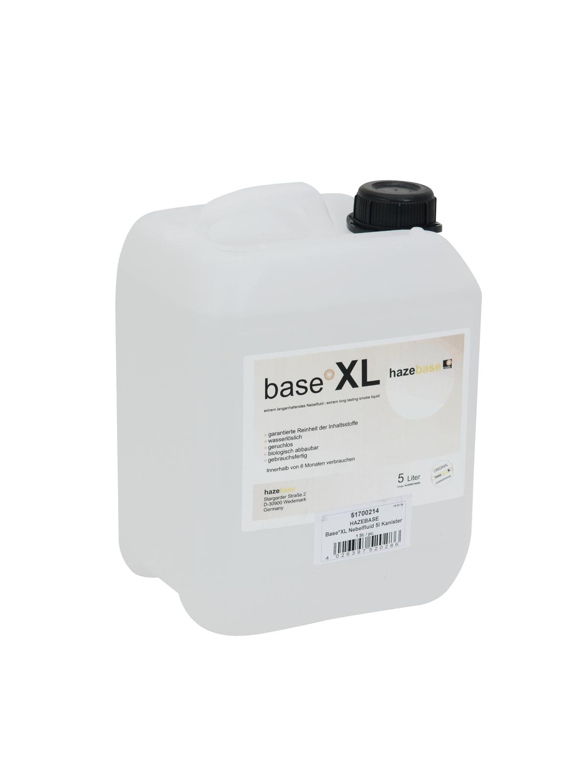 HAZEBASE Base*X Nebelfluid 5l Kanister