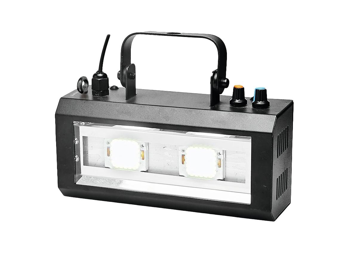 Effetto Luce Strobo a LED COB 2 x 20watt DMX 512 Eurolite