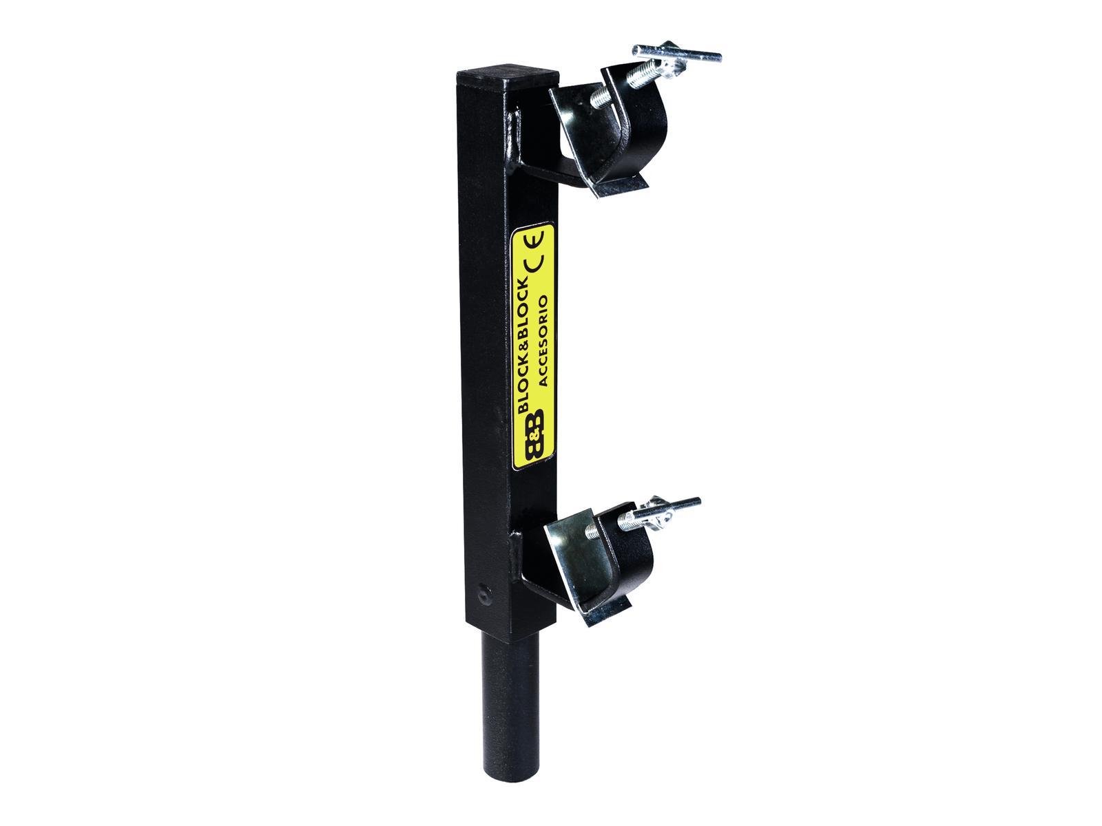BLOCCO E BLOCCO AM3804 Parallelo traliccio di sostegno inserimento 38mm mal
