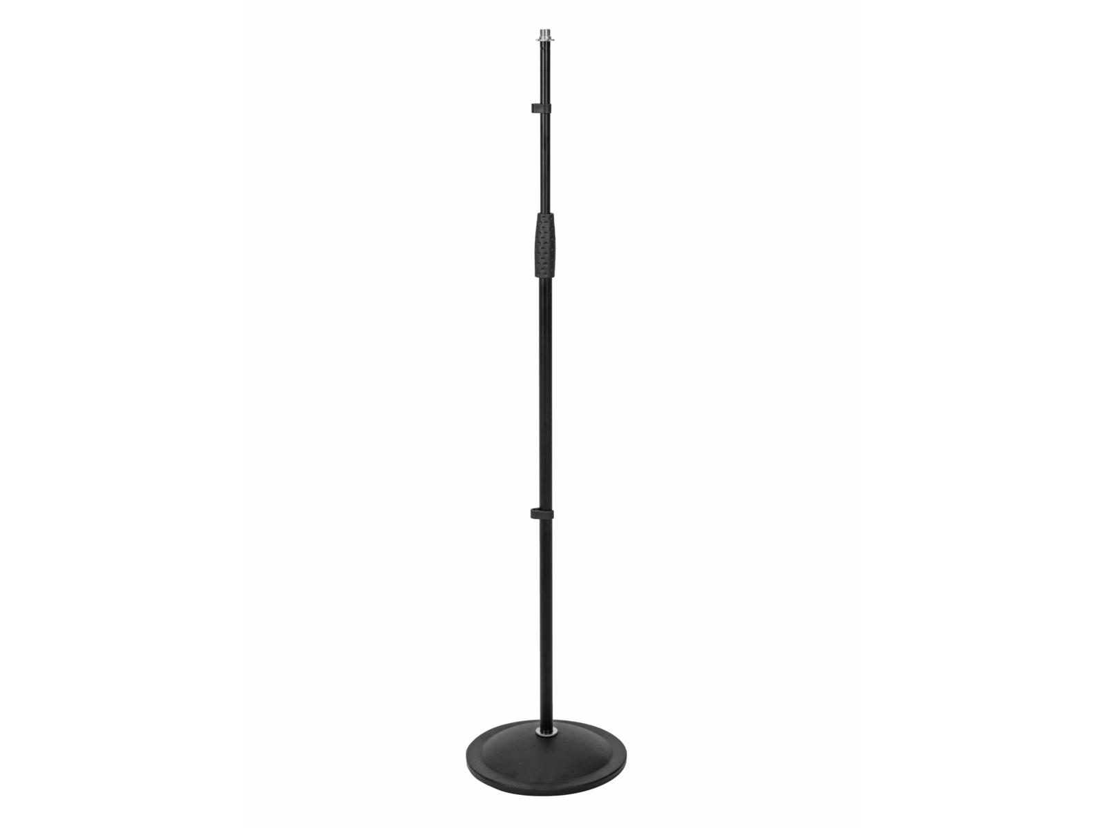 OMNITRONIC asta staffa supporto regolabile per microfono con base rotonda