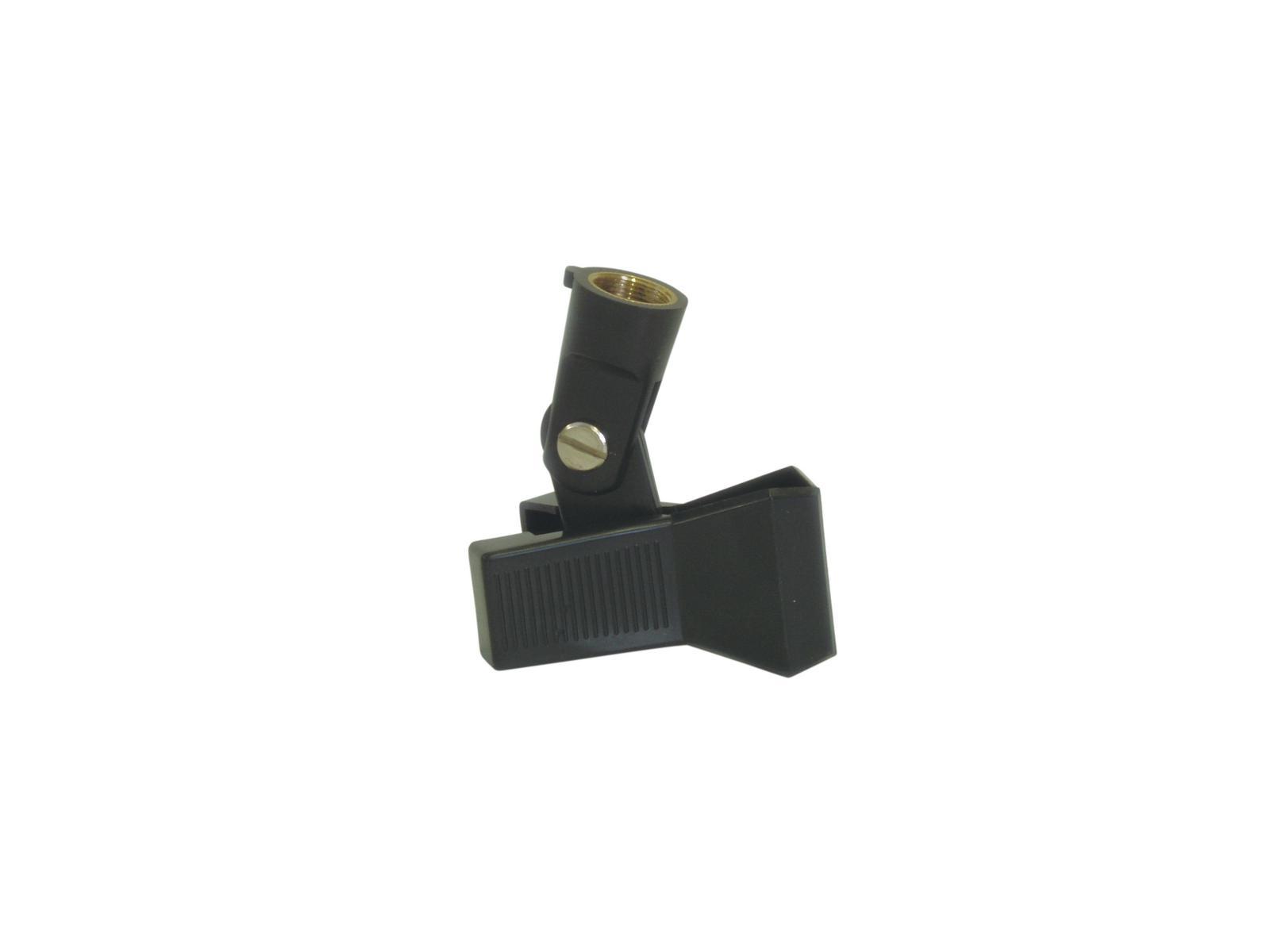 OMNITRONIC MCK-25 Mikro-Klemmhalter sw