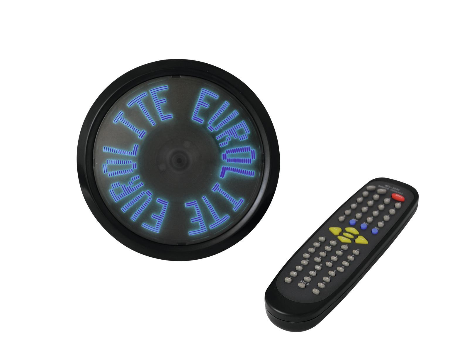 EUROLITE Commovente messaggio pubblicitario disco LED blu