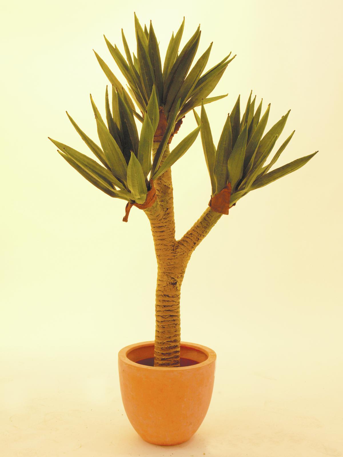 EUROPALMS pianta artificiale Yucca palma piccola , 105cm