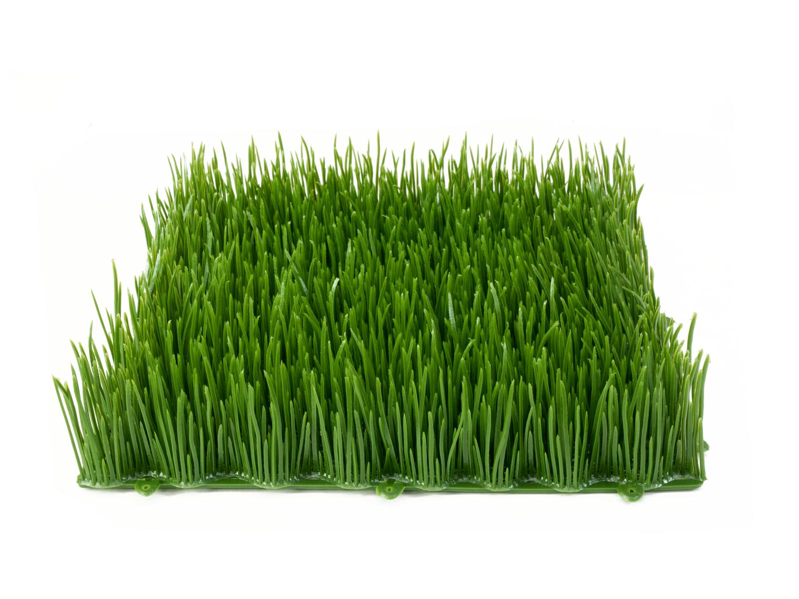 EUROPALMS erba Artificiale di piastrelle, l'ombra, il 25x25cm