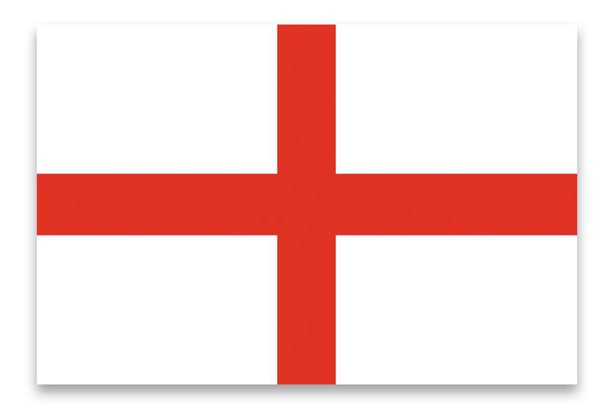 EUROPALMS Bandiera, Inghilterra, 600x360cm